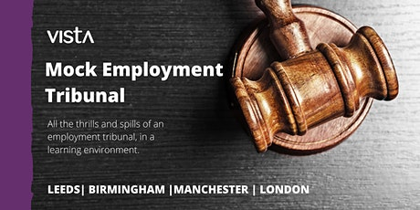 Mock Employment Tribunal - Manchester tickets