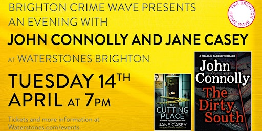 The Brighton Crime Wave presents an Evening With John Connolly - Brighton