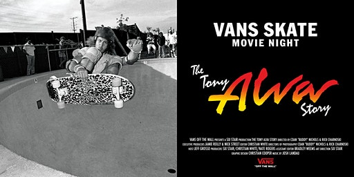Vans Skate Movie Premiere Amsterdam - The Tony Alva Story