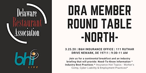 DRA Member Round Table - North