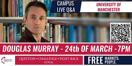 Douglas Murray at Manchester University - TPUK Live Event tickets