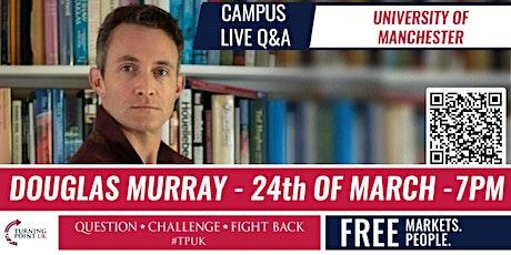 Douglas Murray at Manchester University - TPUK Live Event tickets