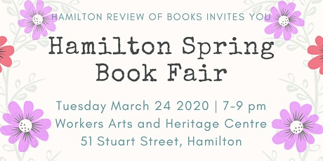 Hamilton Spring Book Fair tickets