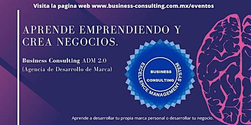 Aprende emprendiendo y crea negocios.