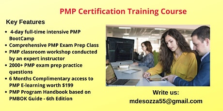 PMP Exam Prep Training in El Paso, TX tickets