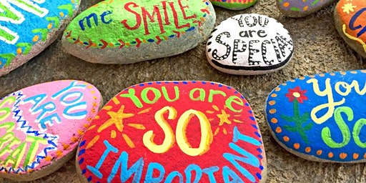 Mindful Pebble Painting - The Well Woman Network Art for Wellbeing Project