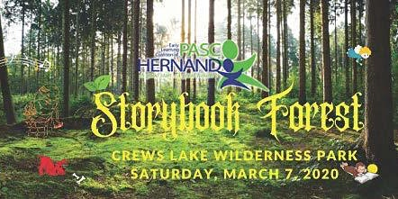 STORYBOOK FOREST Free event (Parking at Crews Lake Middle School)