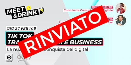 TikTok tra influencer e business biglietti