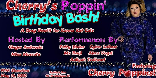 Cherry's Poppin' B-Day Bash!