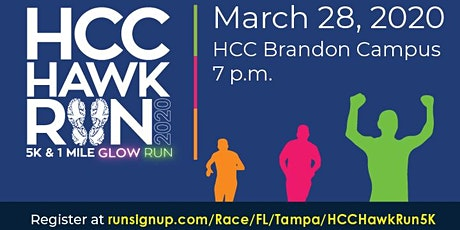 HCC Hawk Run Health and Wellness Poster Contest 2020 tickets