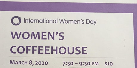 Women's Coffeehouse, International Women's Day  Fundraiser for The Red Door tickets
