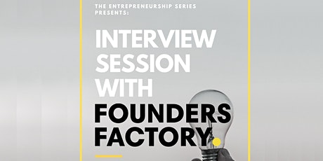 Founders Factory at King's College London tickets