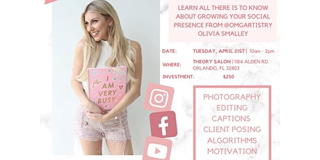Social Savvy Stylist with Olivia Smalley! (OMG Artistry) tickets