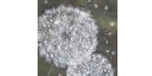 Dandelion Canvas Workshop