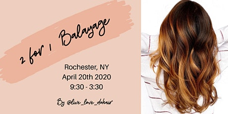 2 for 1 Balayage (Rochester, NY) tickets