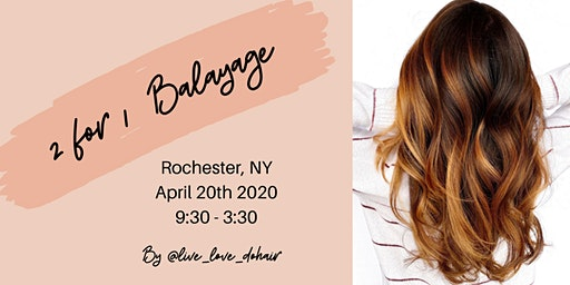 2 for 1 Balayage (Rochester, NY)