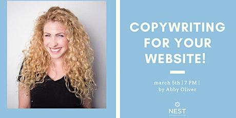 Copywriting for Your Website! boletos