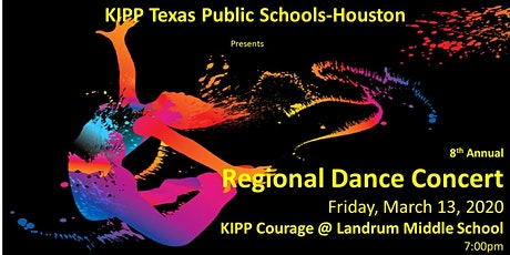 KIPP Texas Public Schools - Houston 2020 REGIONAL DANCE CONCERT tickets