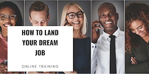 TRAINING: How to Land Your Dream Job (Career Workshop) Tucson, Arizona