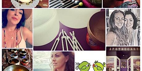 Singing Bowl Guided Meditation w/EVHeart & JenniLove tickets