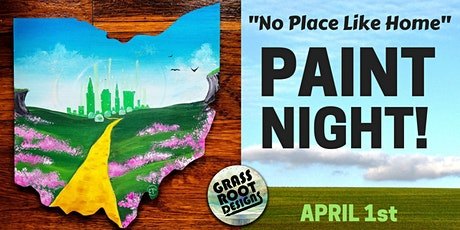 No Place Like Home Paint Night! tickets