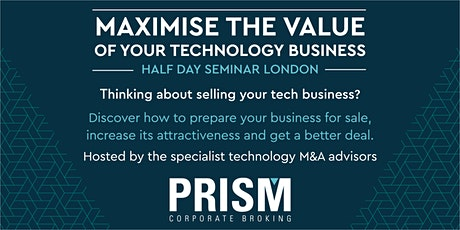 Maximise the Value of Your Technology Business tickets