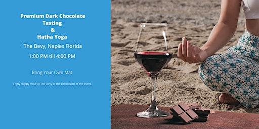 Premium Dark Chocolate & Wine Tasting with Yoga