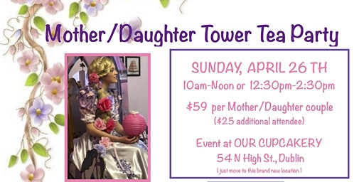 Rapunzels Mother/Daughter Tower Tea Party