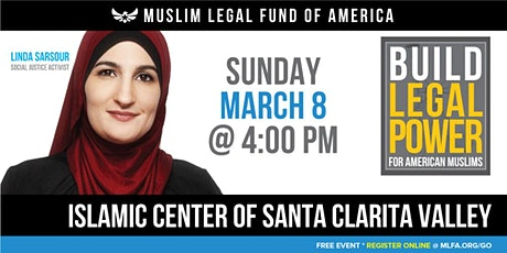 Build Legal Power for American Muslims with Linda Sarsour - Santa Clarita, CA tickets