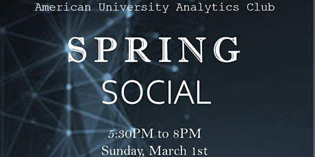 AU Analytics Spring 2020 Social tickets