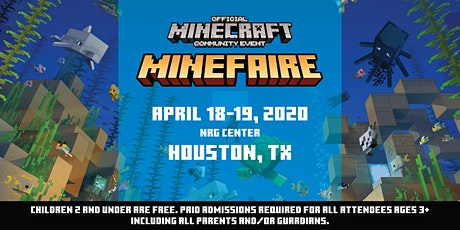*NEW DATES* Minefaire, an Official MINECRAFT Community Event (Houston, TX) tickets