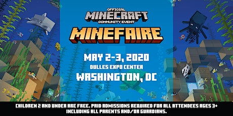 *NEW DATES* Minefaire, an Official MINECRAFT Community Event (Dulles) tickets