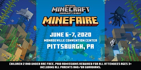 *NEW DATES* Minefaire, an Official MINECRAFT Community Event (Pittsburgh) tickets