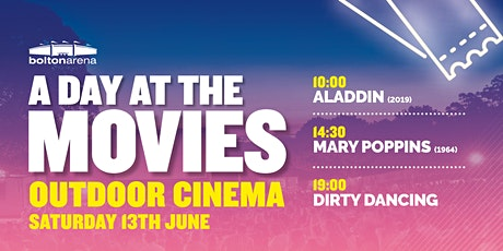 Bolton Arena's A Day at the Movies - Day Pass tickets