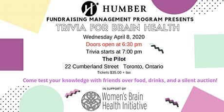 Trivia for Brain Health tickets