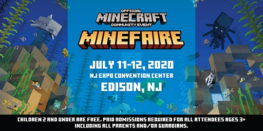 Minefaire, an Official MINECRAFT Community Event (Edison, NJ)