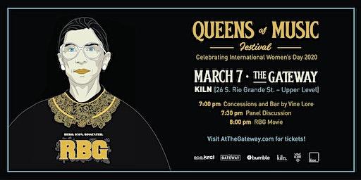 Queens of Music Festival: Panel &  Movie