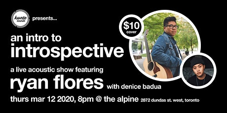 An Intro to Introspective feat. Ryan Flores & Denice Badua tickets