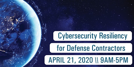 Cybersecurity Resiliency For Defense Contractors – CO tickets