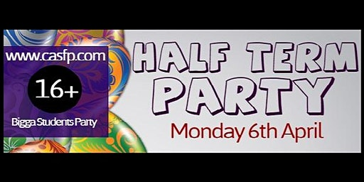 Half Term Party ★ (Mon 6th Apr) Early Bird Tickets