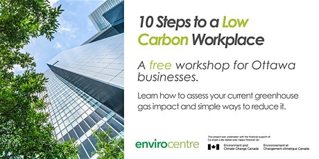 WEBINAR - 10 Steps to a Low Carbon Workplace tickets