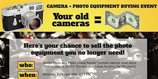 Camera & Photo Equipment Buying Event
