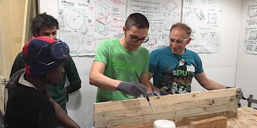 Workshop di falegnameria - Cornici portafoto in legno - €60