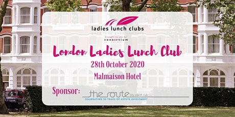 London Ladies Lunch Club - 28th October 2020 tickets