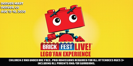 Brick Fest Live LEGO® Fan Experience (Denver, CO)