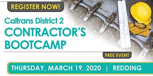 Redding - Caltrans District 2 Contractor's Bootcamp