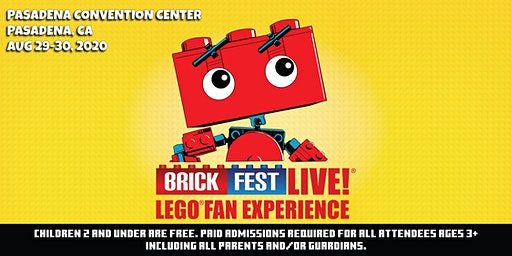 Brick Fest Live LEGO® Fan Experience (Pasadena, CA)