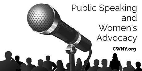 Public Speaking & Advocacy for Women's Issues tickets