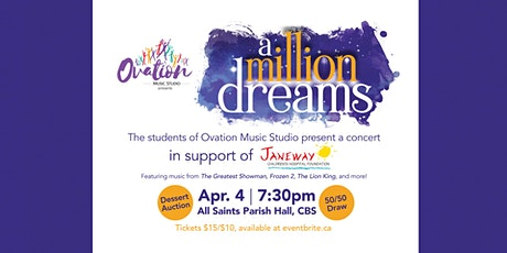 A Million Dreams: Janeway Fundraising Concert tickets