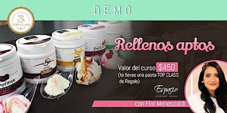 Demo de Rellenos con FLORENCIA MENESCALDI entradas